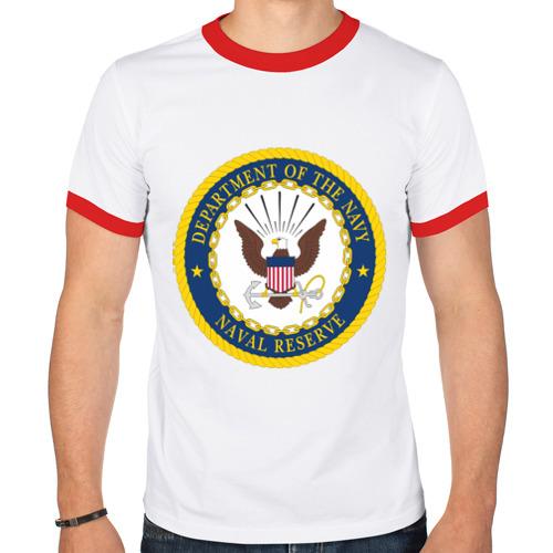 Мужская футболка рингер  Фото 01, Военно-морское министерство США