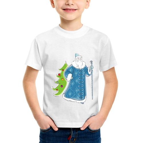 Детская футболка синтетическая Мороз и елочка от Всемайки
