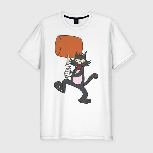 Мужская футболка премиум Itchy Фото 01