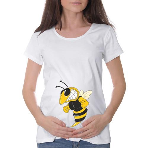 Футболка для беременных хлопок Пчела