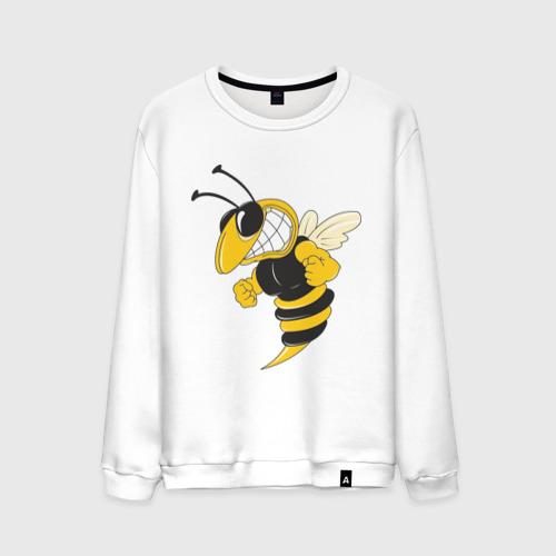 Мужской свитшот хлопок Пчела