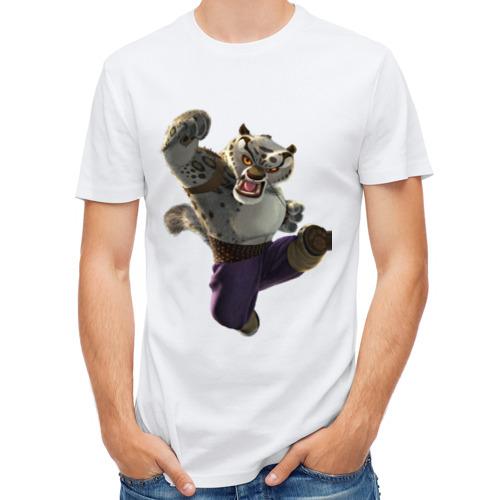 Мужская футболка полусинтетическая  Фото 01, Кунг фу Панда (9)