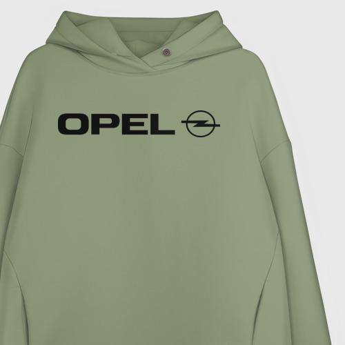 Женское худи Oversize хлопок Opel Фото 01