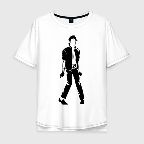 Мужская футболка хлопок Oversize Майкл Джексон (9)