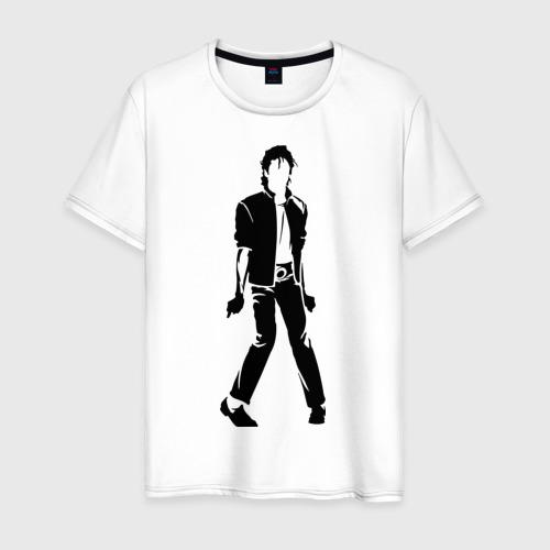 Мужская футболка хлопок Майкл Джексон (9)
