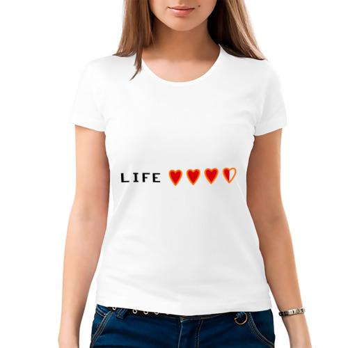 Женская футболка хлопок  Фото 03, Жизнь