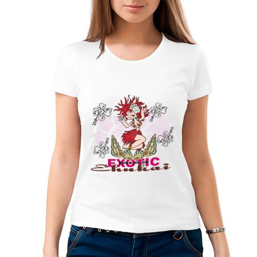 Женская футболка хлопок  Фото 03, Miss(2)