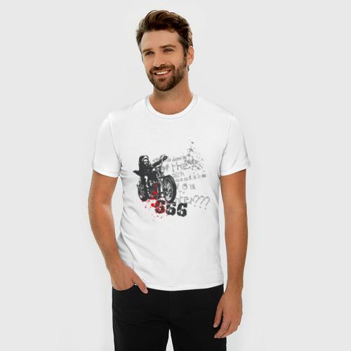 Мужская футболка премиум  Фото 03, Biker