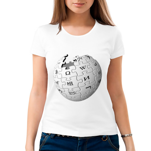 Женская футболка хлопок  Фото 03, Wikipedia