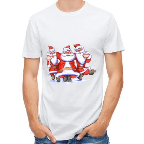 Мужская футболка синтетическая Деды Морозы от Всемайки
