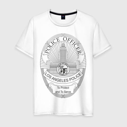 Мужская футболка хлопок PoliceOfficer