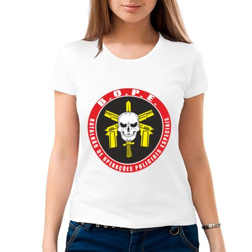 Женская футболка хлопок  Фото 03, Батальон Особых Полицейских Операций