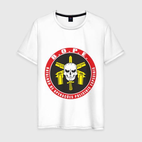 Мужская футболка хлопок Батальон Особых Полицейских Операций