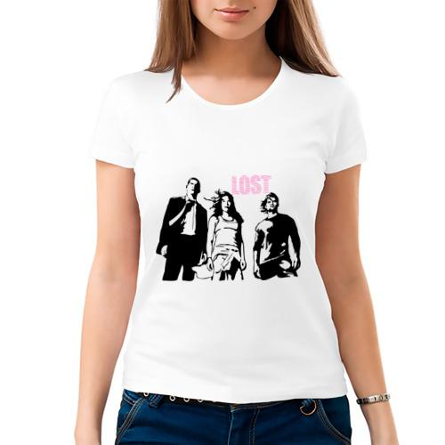 Женская футболка хлопок  Фото 03, Lost (6)