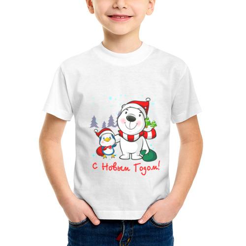 Детская футболка синтетическая Boowoo