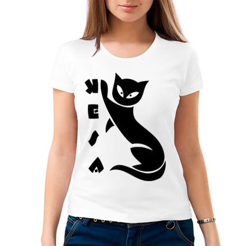 Женская футболка хлопок  Фото 03, Kesa