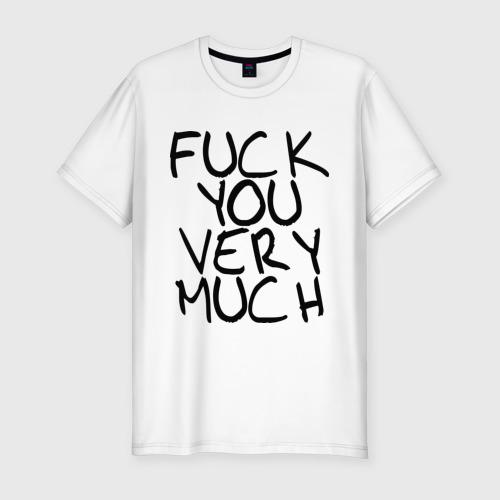 Мужская футболка премиум  Фото 01, Fuck you very much