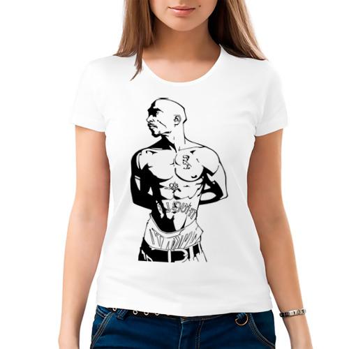 Женская футболка хлопок  Фото 03, 2pac (2)