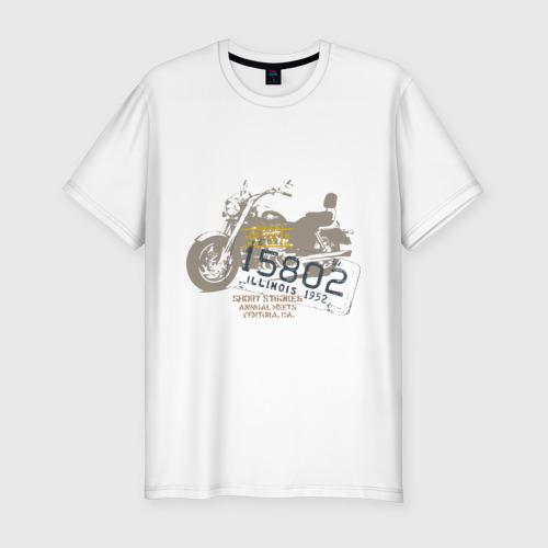 Мужская футболка премиум  Фото 01, Motor Bike