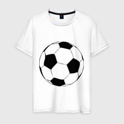 Футбольный мяч, цвет: белый, фото 0