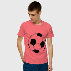 Футбольный мяч, цвет: коралловый, фото 52