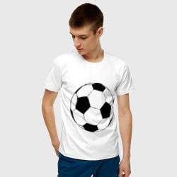 Футбольный мяч, цвет: белый, фото 2