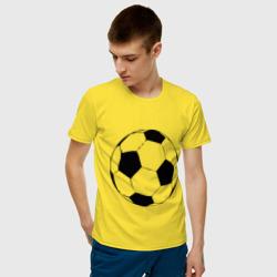 Футбольный мяч, цвет: желтый, фото 12