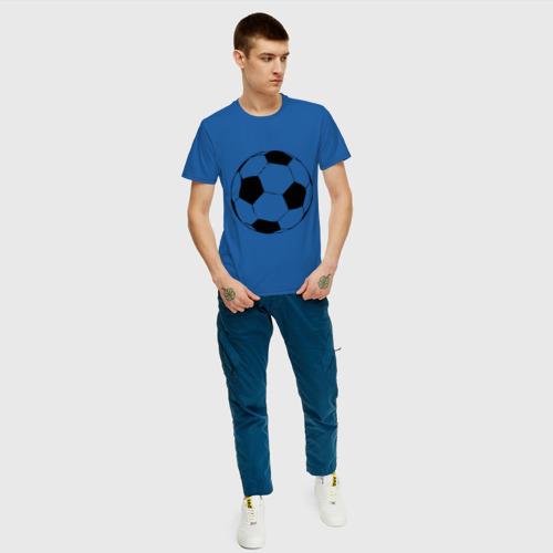 Футбольный мяч, цвет: синий, фото 19