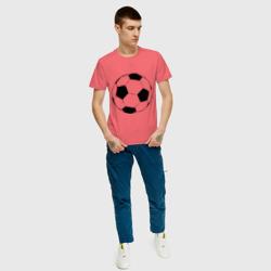 Футбольный мяч, цвет: коралловый, фото 54