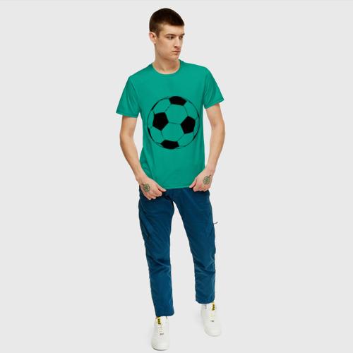Футбольный мяч, цвет: зеленый, фото 29