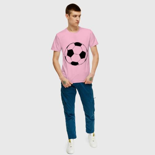 Футбольный мяч, цвет: светло-розовый, фото 64