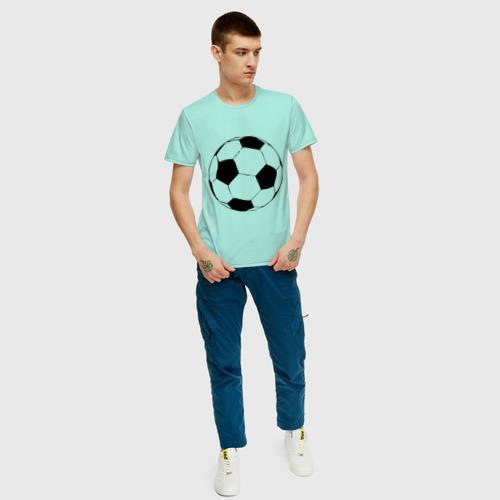 Футбольный мяч, цвет: мятный, фото 59