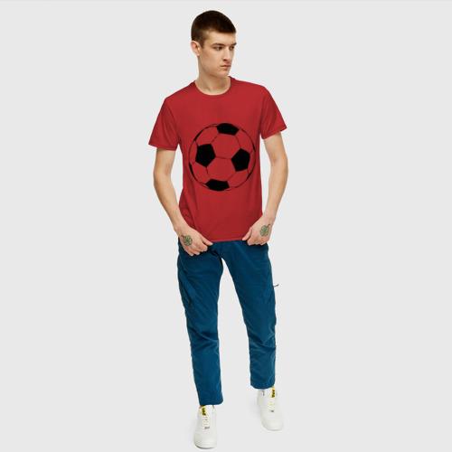 Футбольный мяч, цвет: красный, фото 9