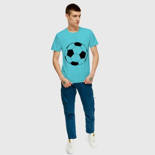 Футбольный мяч, цвет: бирюзовый, фото 34