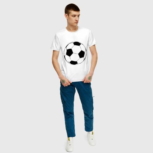 Футбольный мяч, цвет: белый, фото 4