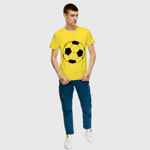 Футбольный мяч, цвет: желтый, фото 14