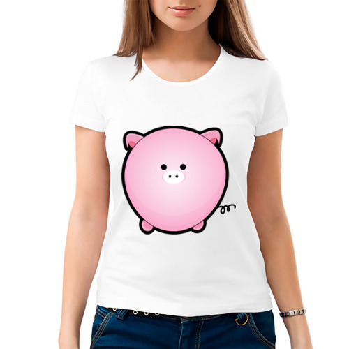 Женская футболка хлопок  Фото 03, Cute Puffy Animals (2)