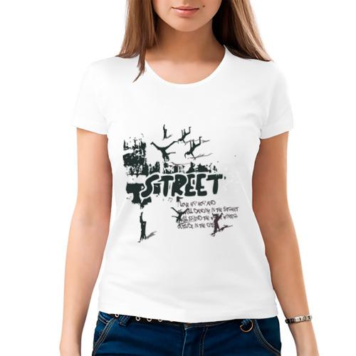 Женская футболка хлопок  Фото 03, Street Dancing