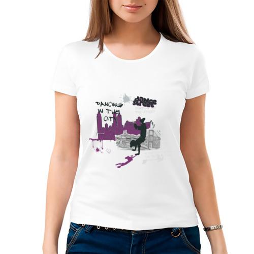 Женская футболка хлопок  Фото 03, Street Dancing (2)