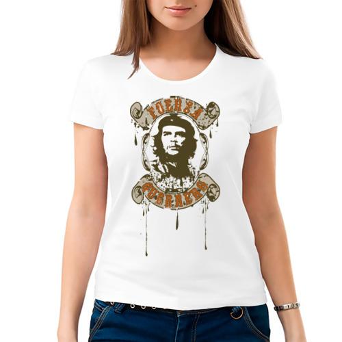 Женская футболка хлопок  Фото 03, Che Guevara