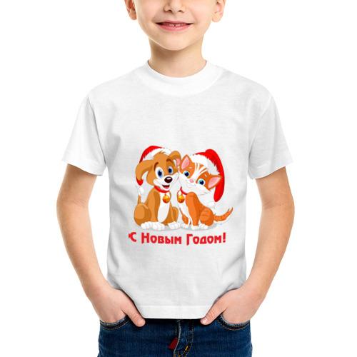 Детская футболка синтетическая С Новым Годом(6) от Всемайки