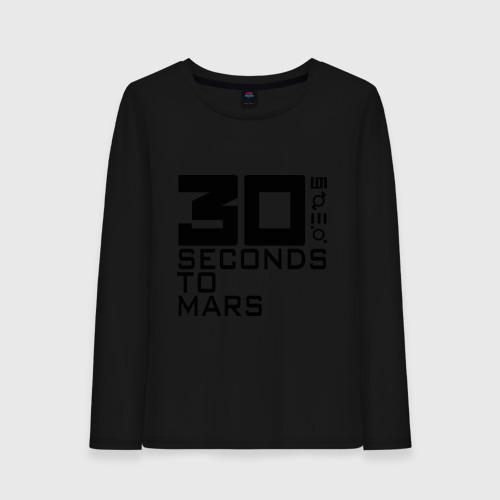 Женский лонгслив хлопок 30 Seconds To Mars (4)