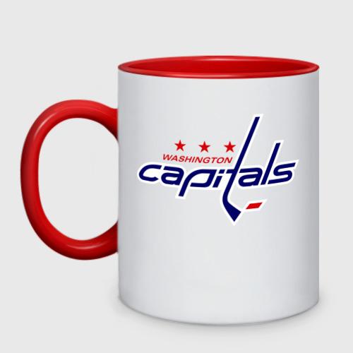 Кружка двухцветная Washington Capitals