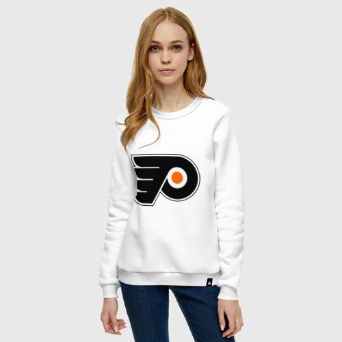 Женский свитшот хлопок Philadelphia Flyers Фото 01
