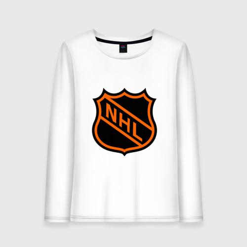 Женский лонгслив хлопок NHL