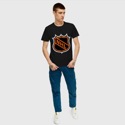 Мужская футболка хлопок NHL Фото 01