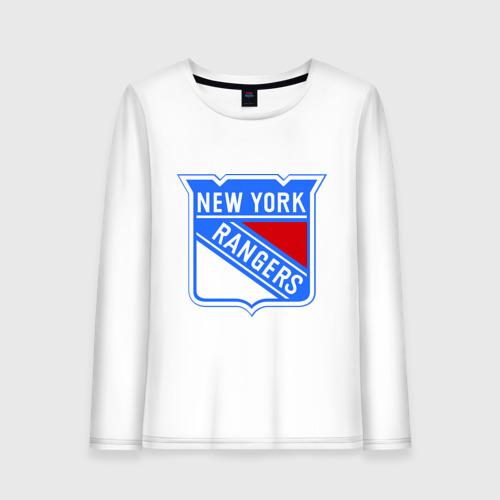 Женский лонгслив хлопок New York Rangers