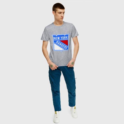 Мужская футболка хлопок New York Rangers Фото 01