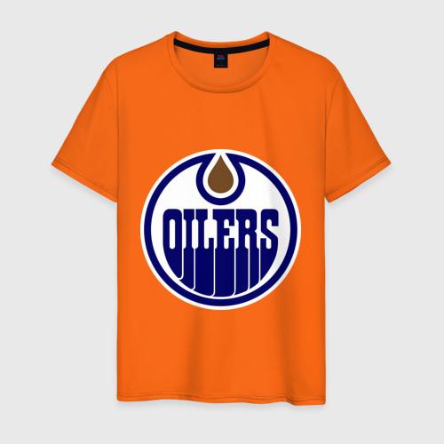 Мужская футболка хлопок Edmonton Oilers Фото 01