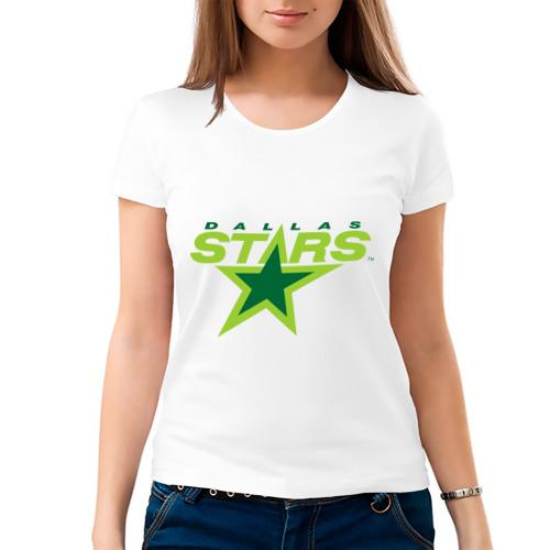 Женская футболка хлопок  Фото 03, Dallas Stars